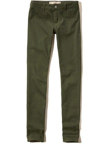 Army Green Jeans