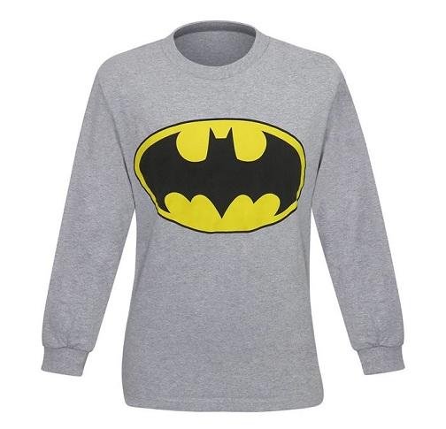 Batman Symbol Long Sleeve Men's T-Shirt