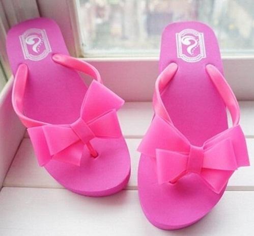 Beach Wear Pink Sandals