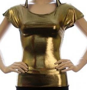 Beguiling Gold T-Shirts for Girls