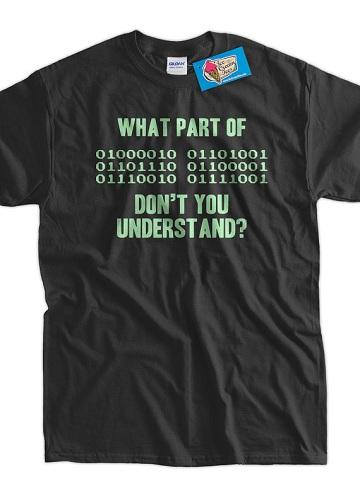 Binary Code Geek T-Shirt
