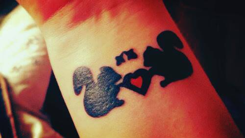 Blank Ink Squirrel Tattoo