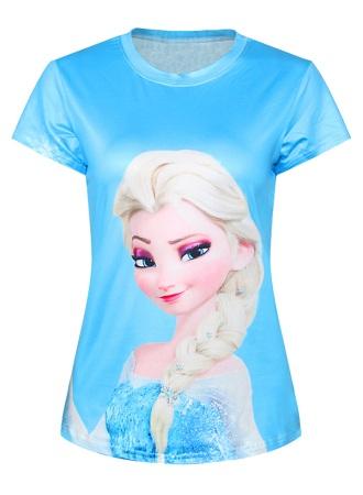 Blue Stupendous T-Shirt for Girls