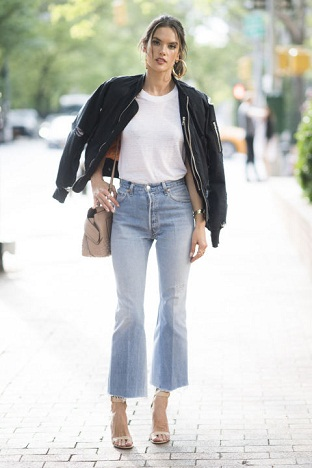 Boot Cut Cropped Women Denim Jean