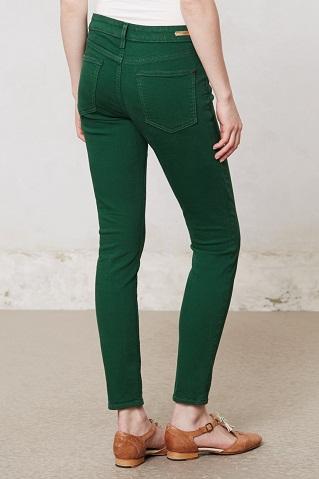 Bottle Green Jeans