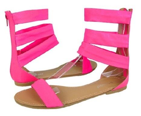Branded Pink Sandals