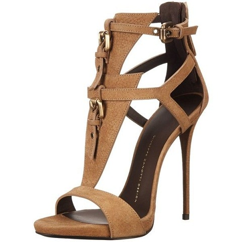 Brown Tip Toe Sandals