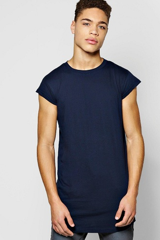 Cap Sleeve Men's T Shirts