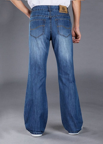 Casual Flare Jeans for Men
