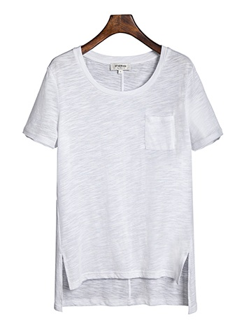 Casual White T-Shirt for Females