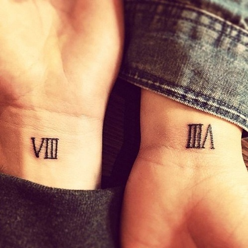 15 best roman numeral tattoos ideas designs and meaning styles at life. Black Bedroom Furniture Sets. Home Design Ideas