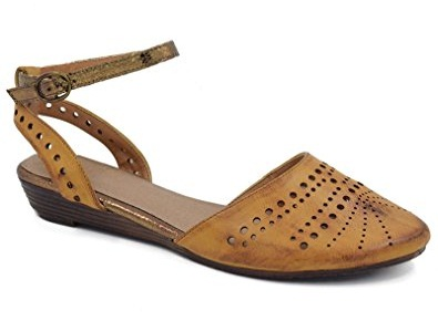 Closed Stone Studded Pointed Toe Sandal for Women