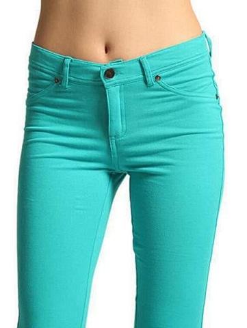 Colored Capri Jeans