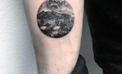 round tattoo