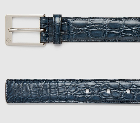 Crocodile Gucci Belt