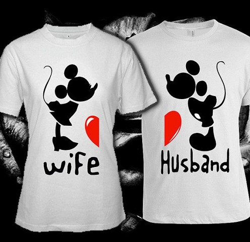 Custom T Shirt for Couple