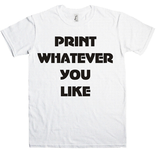 ustomized Printed T-Shirts