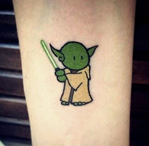 Cute Star Wars Tattoo