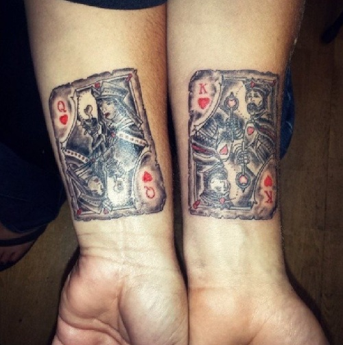 34f065c743ffd 15 Magnificent Queen Tattoo Ideas, Designs And Meaning | Styles At Life