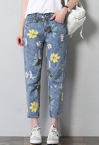Designer Colored Jeans