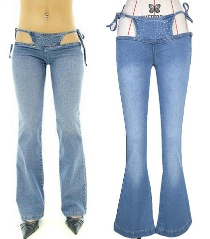 Distinct Flare Jeans for Girls