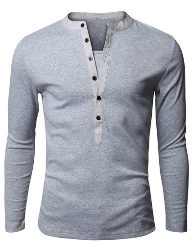 Distinct Plain T-Shirt for Males