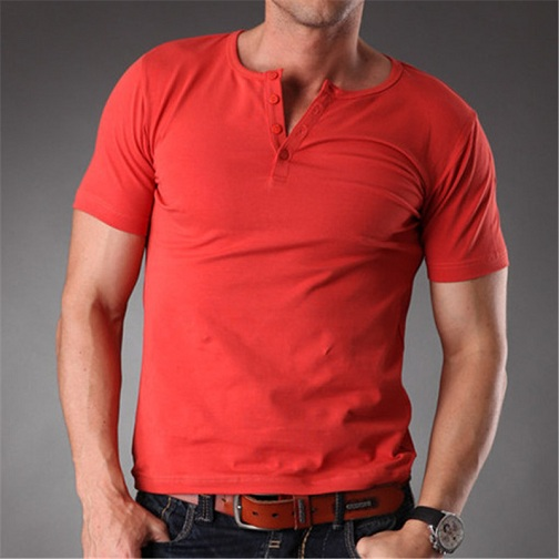Distinguishing Red T-Shirts for Men
