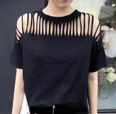 Divine Black T-Shirt for Women