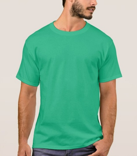 Elegant Kelly Green T-Shirts for Men