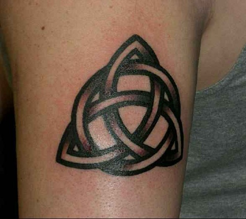 Endless Knot Sibling Tattoos
