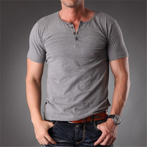 Enticing Grey T-Shirt for Men