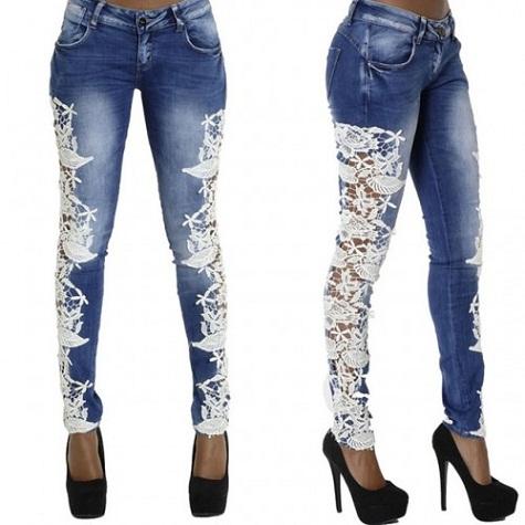 Eye Widening Hip Hop Jeans for Girls