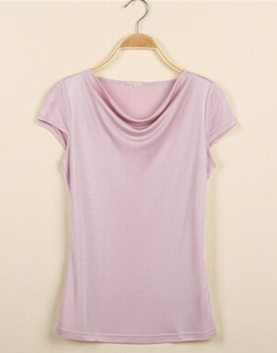 Fall Neck T-Shirt for Women