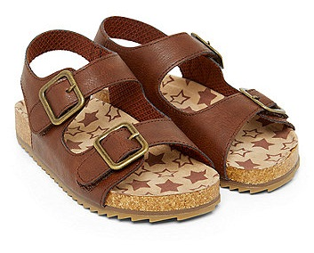 Flatbed Brown Sandal