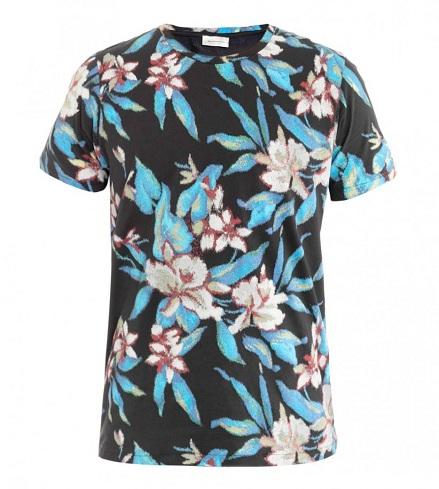 Floral Print Designer T Shirts