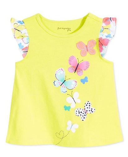 Flutter Sleeves Baby T-Shirts