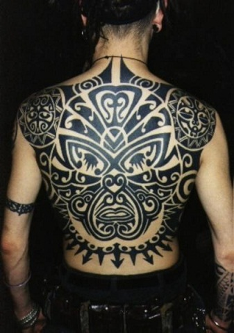 Full Body Tribal Back