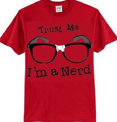Funky T-shirt Geek Design