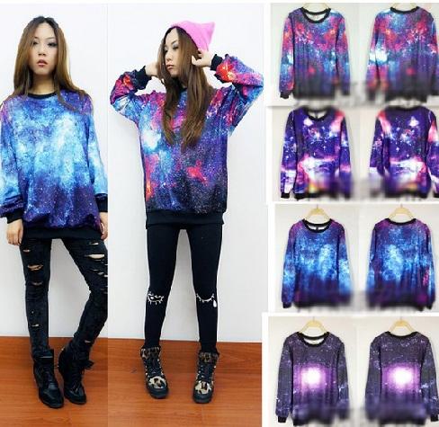 Galactic Design Long T Shirt