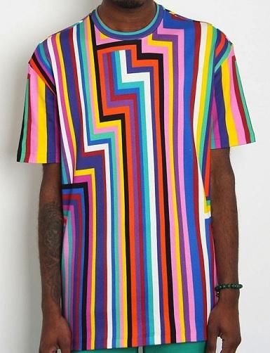 Geometric Print Designer T-Shirts