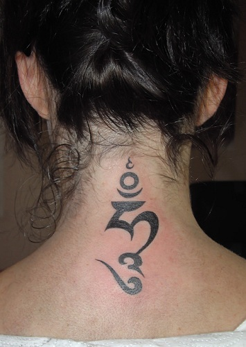 Girl's Favorite Tibetan Tattoo