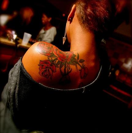 Gracious Dark Skin Tattoo Design