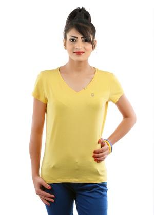 Gracious Yellow T-Shirts for Women