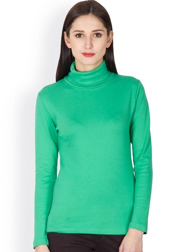 Green Beauteous T-Shirts for Females