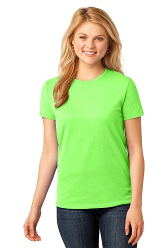 Green Beguiling T-Shirts for Females