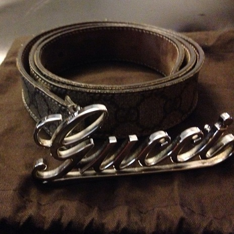 Gucci Circular Design Belt
