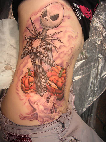Halloween Scary Tattoo