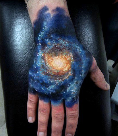 9 wonderful galaxy tattoo ideas designs and meaning styles at life. Black Bedroom Furniture Sets. Home Design Ideas