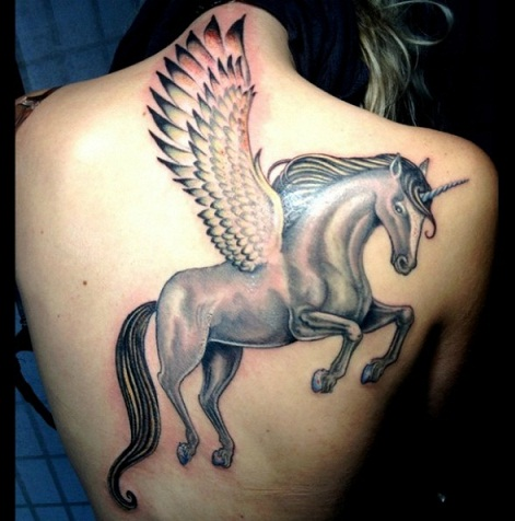 Impressive Unicorn Tattoo Designs