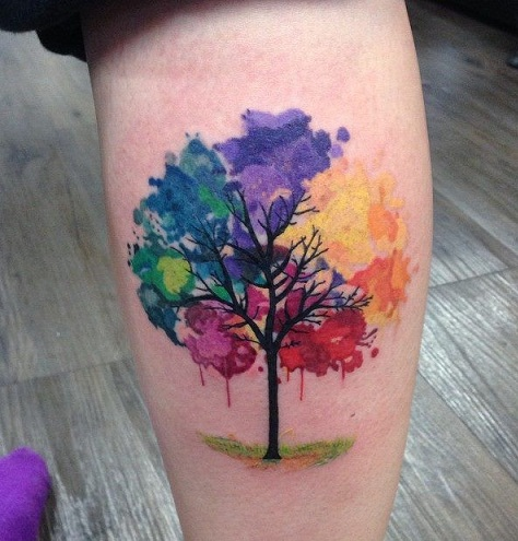 9 Stunning Watercolor Tattoo Ideas And Designs Styles At Life